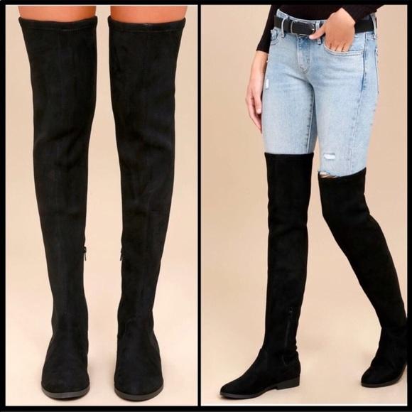 651f77c69c Lust 4 life L4L Black Boots size 6